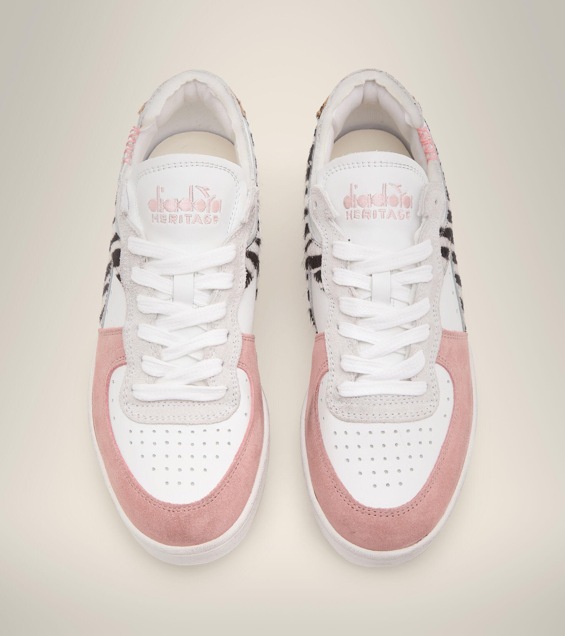 Footwear Heritage DONNA MI BASKET ROW CUT SAVANNAH WN BIANCO Diadora