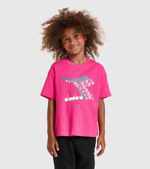 T-shirt - Kids JU.SS T-SHIRT  CUBIC MAGENTA - Diadora
