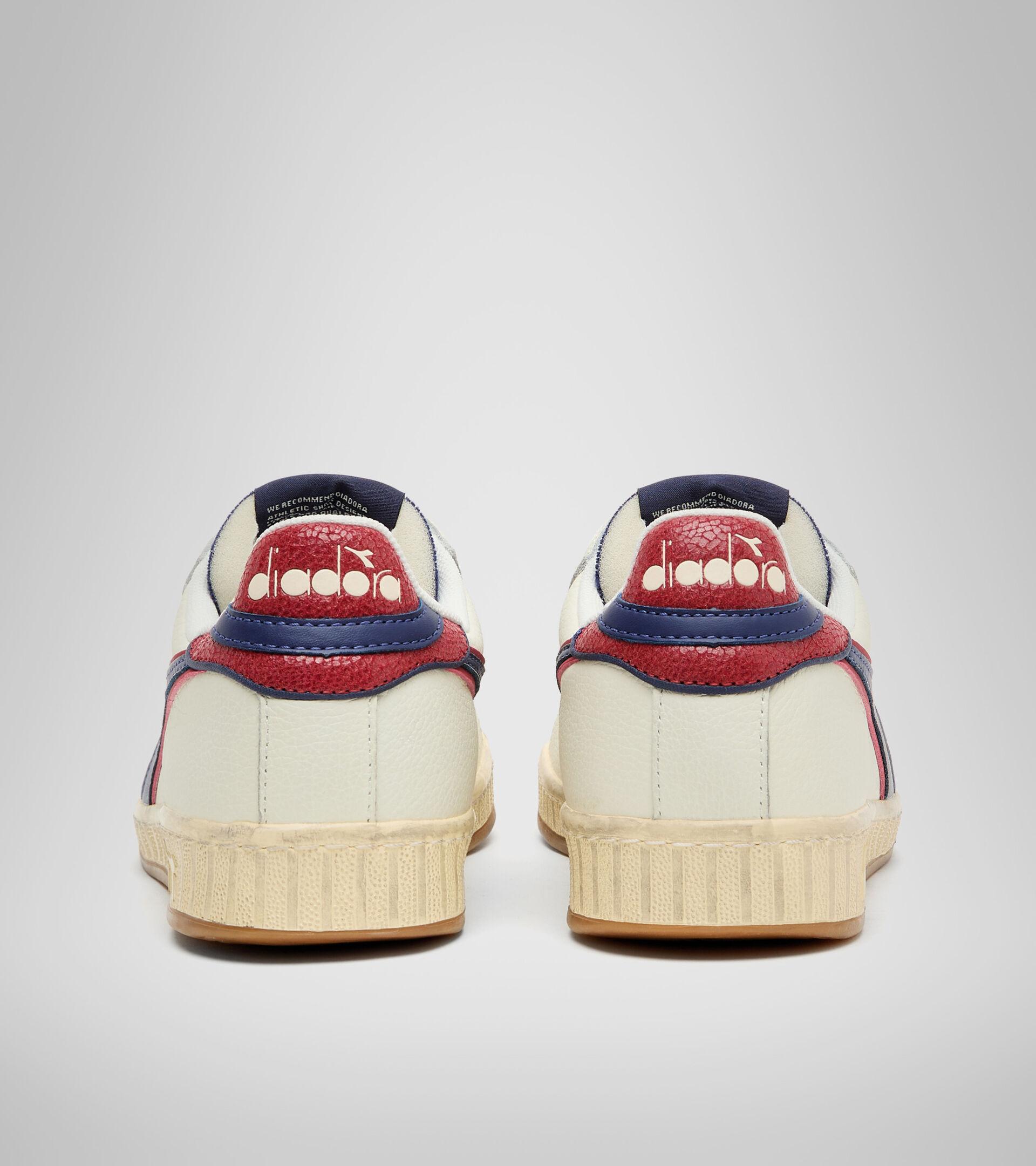 Footwear Sportswear UNISEX GAME L LOW ICONA BIANCO/BLU CREPUSCOLO Diadora