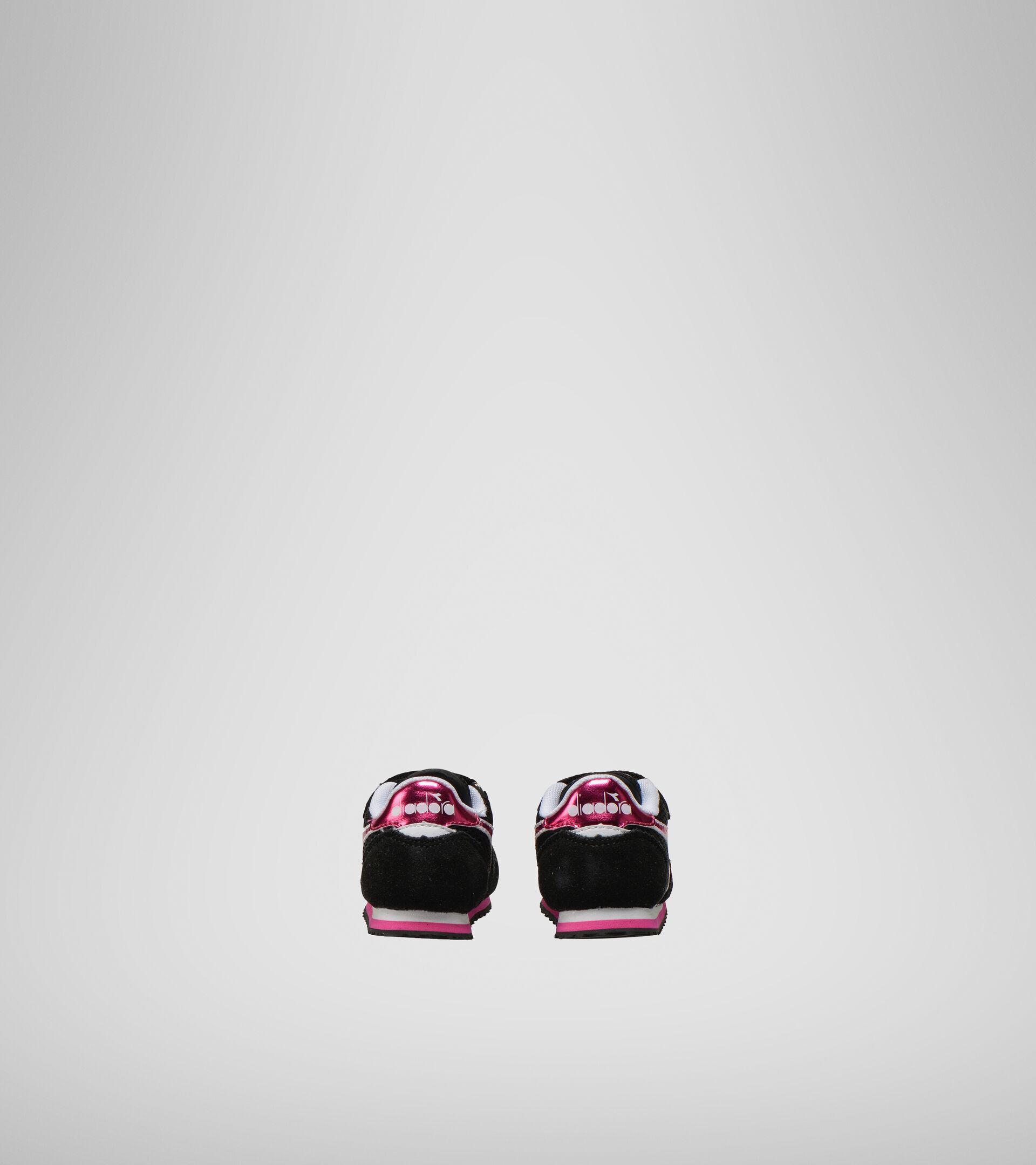 Sports shoes - Toddlers 1-4 years SIMPLE RUN TD GIRL BLACK - Diadora