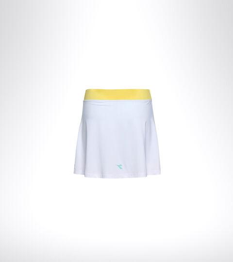 Jupe de tennis - Femme L. SKIRT EASY TENNIS BIANCO OTTICO/AZZURRO TINTA - Diadora