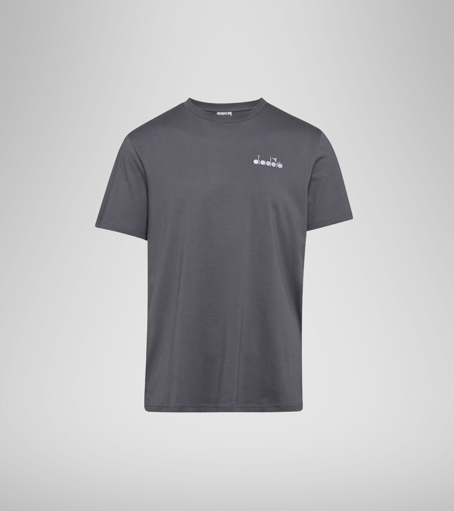 Camiseta - Hombre SS T-SHIRT CORE OC GRIS CARBON - Diadora