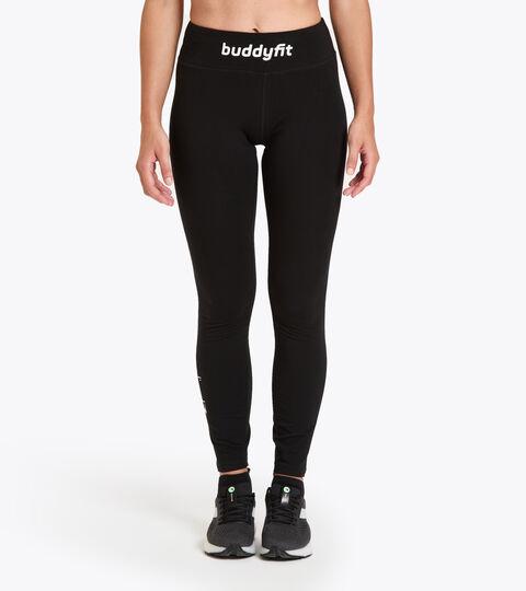Leggings d'entraînement pour femme L. STC LEGGINGS BUDDYFIT NOIR - Diadora