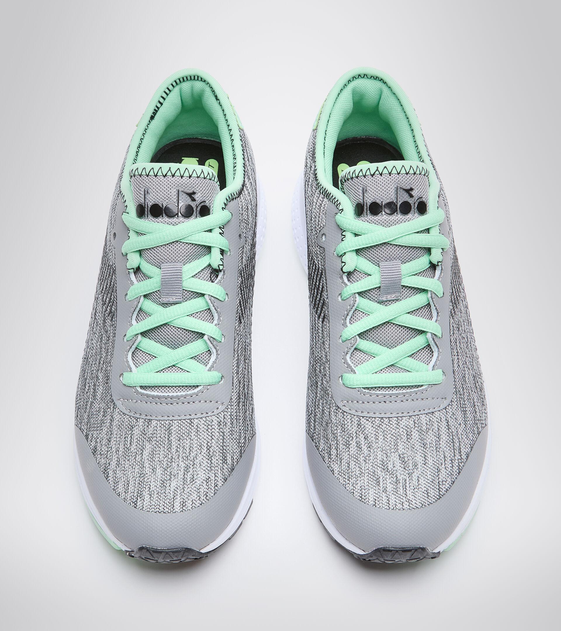 Zapatillas deportivas - Mujer PASSO W PLATA/NEGRO/VERDE FRESNO - Diadora