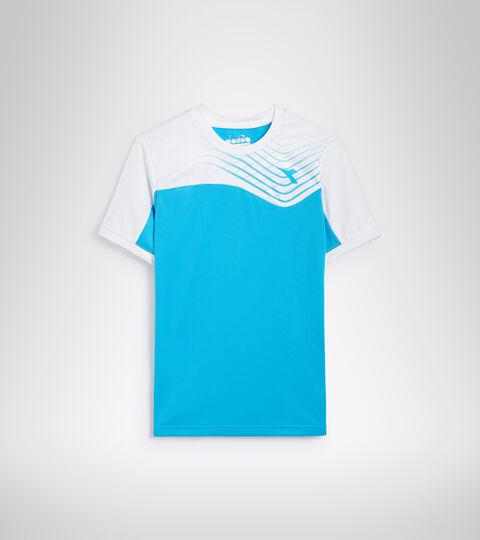 Tennis-T-Shirt - Junior J. T-SHIRT COURT KONIGSBLAU FLUO - Diadora
