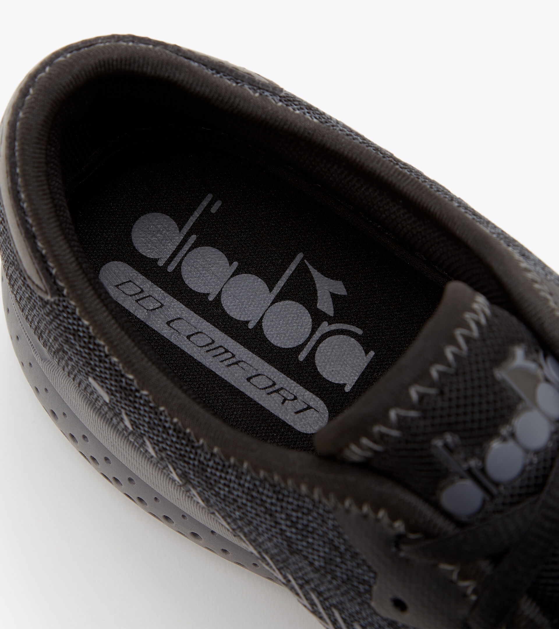 Footwear Sport UOMO PASSO NEGRO/GRIS ACERO Diadora