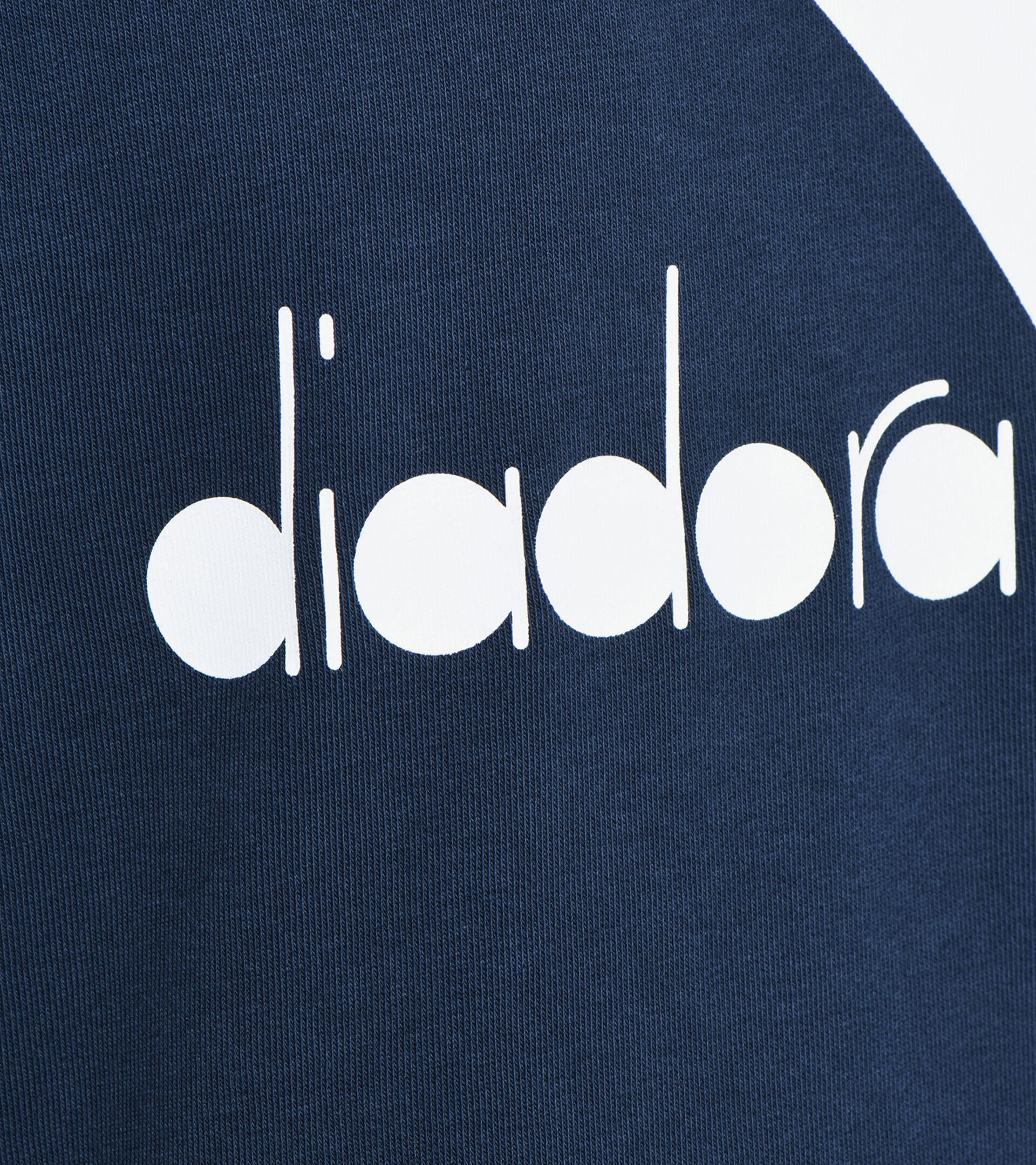 Apparel Sport UOMO HOODIE BIG LOGO BLUE CORSAIR Diadora