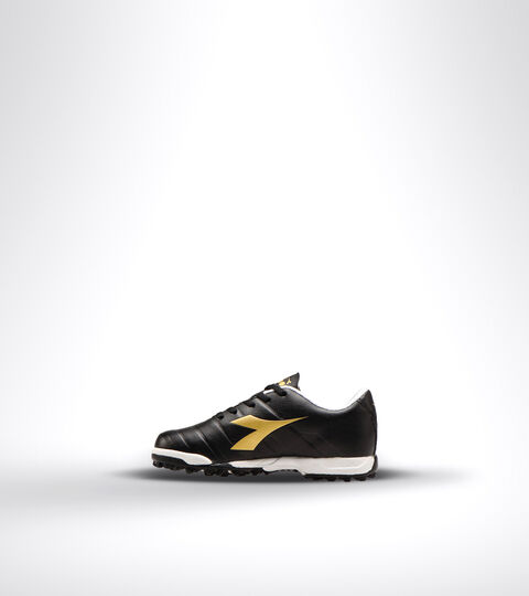 Footwear Sport BAMBINO PICHICHI 3 TF JR BLACK/WHITE/GOLD Diadora
