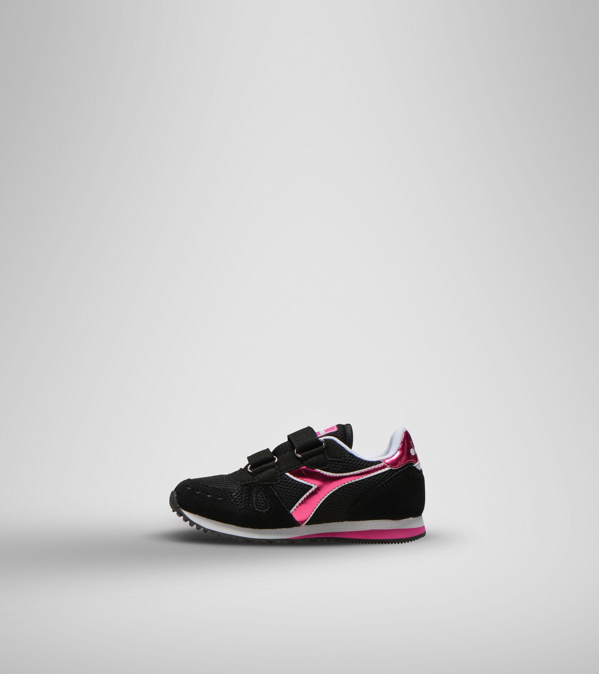 Footwear Sport BAMBINO SIMPLE RUN PS GIRL NEGRO Diadora
