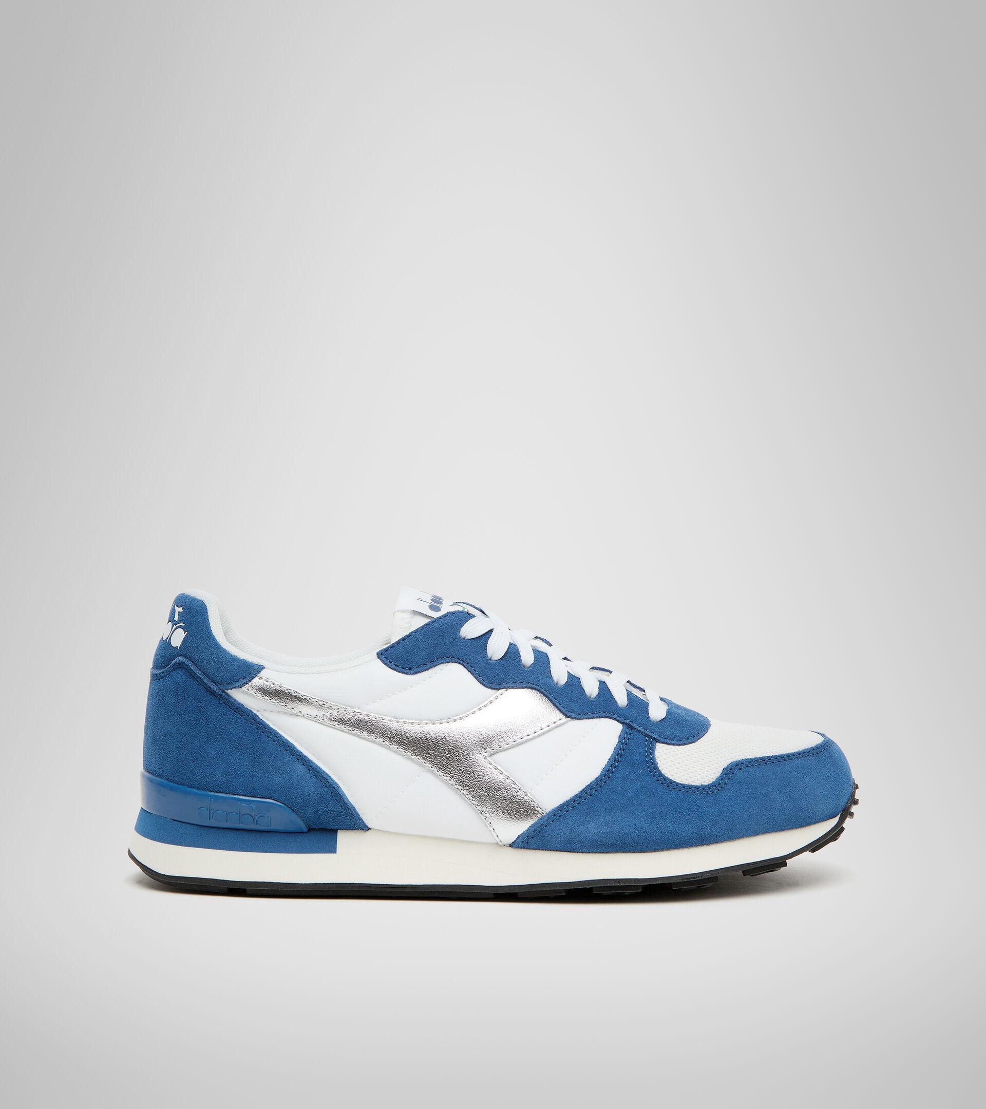 Footwear Sportswear UNISEX CAMARO METAL BIANCO/BLU OLANDESE Diadora
