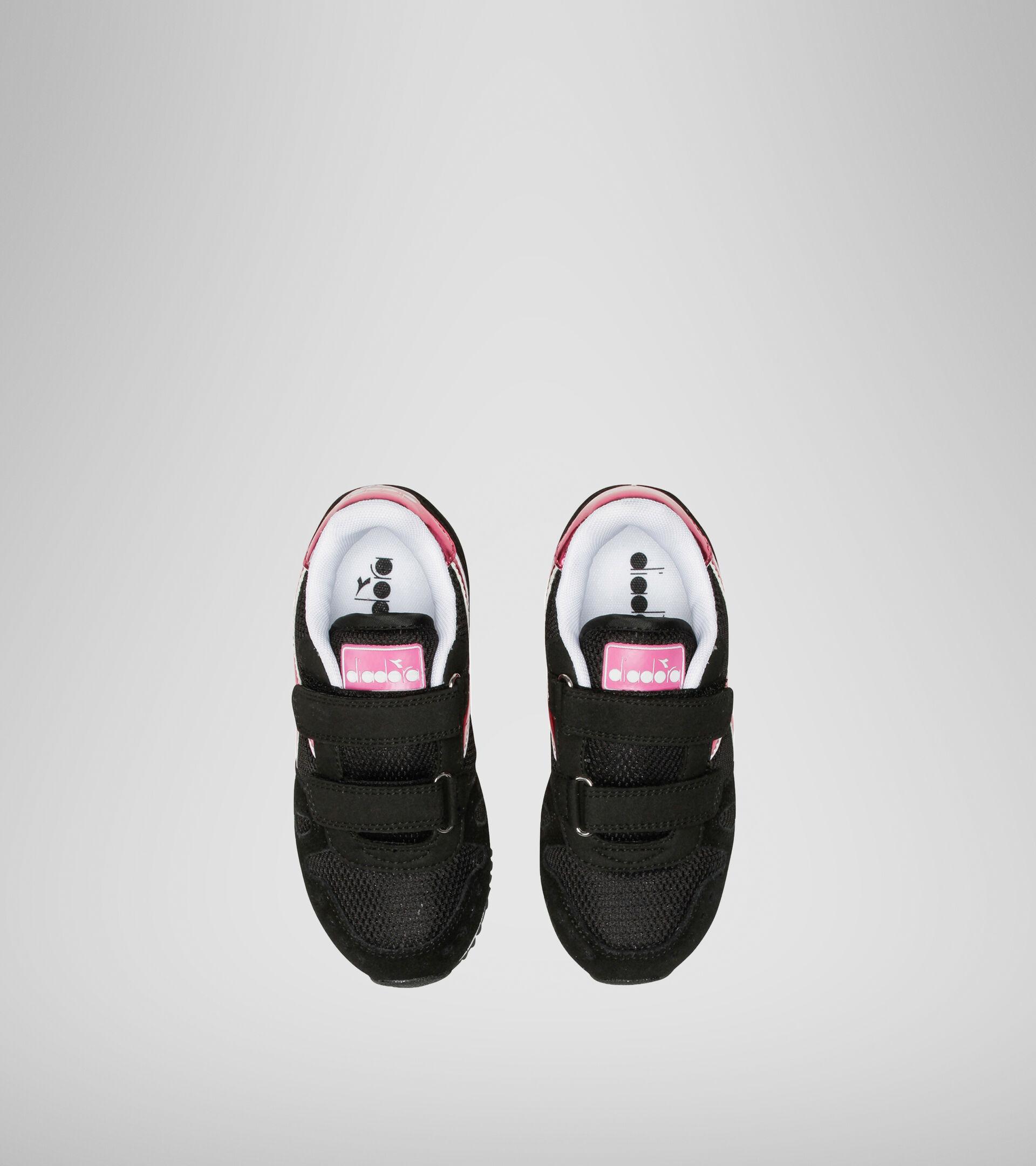 Chaussures de sport - Enfants 4-8 ans SIMPLE RUN PS GIRL NOIR - Diadora