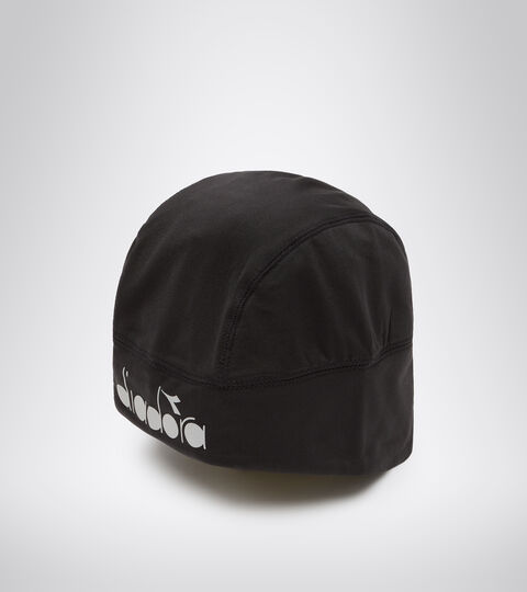 Accessories Sport UNISEX WINTER CAP LOGO REFLECTIVE PIRATE BLACK 1 Diadora