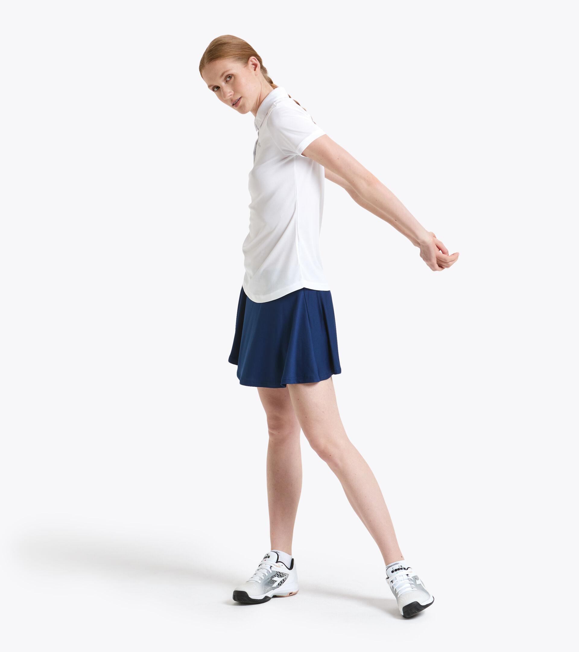 Polo de tenis - Mujer L. POLO COURT BLANCO VIVO - Diadora