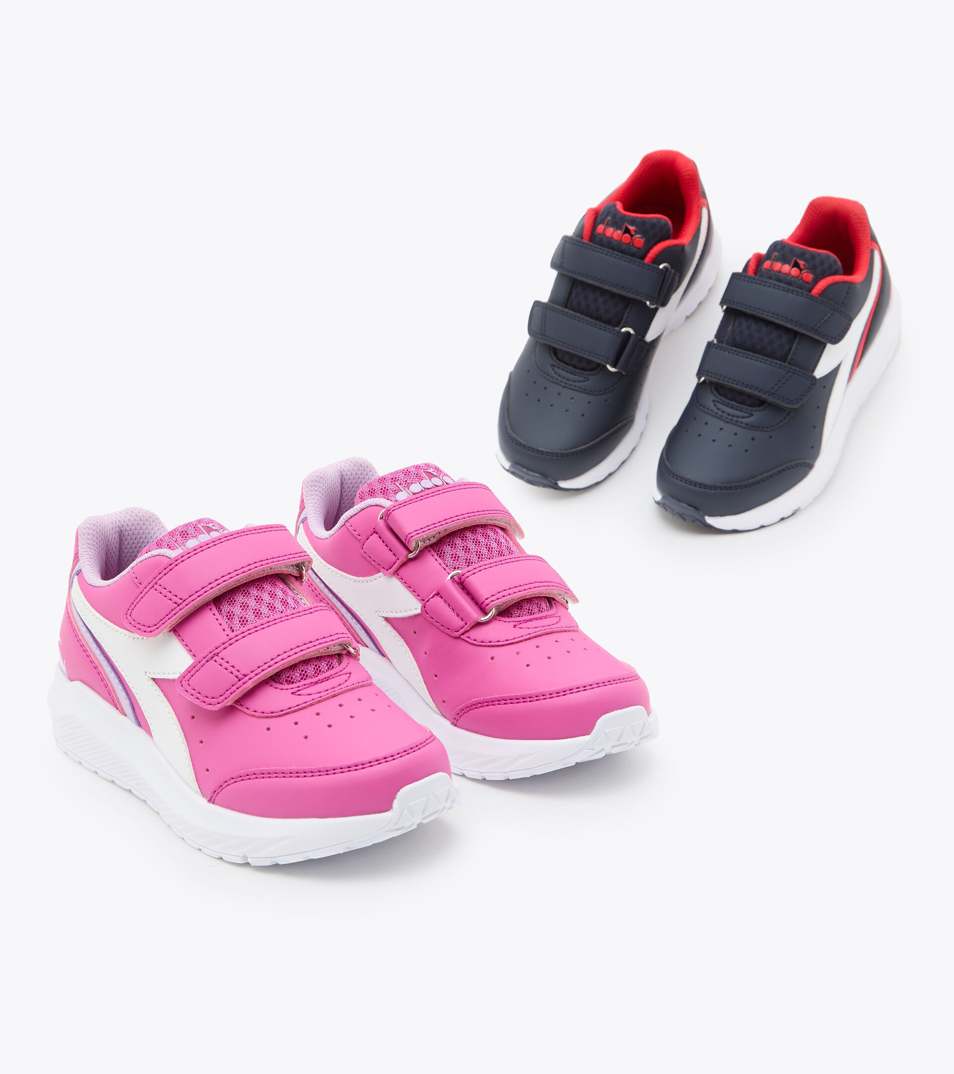 Footwear Sport BAMBINO FALCON SL JR V FUCHSIA PINK/WHITE Diadora