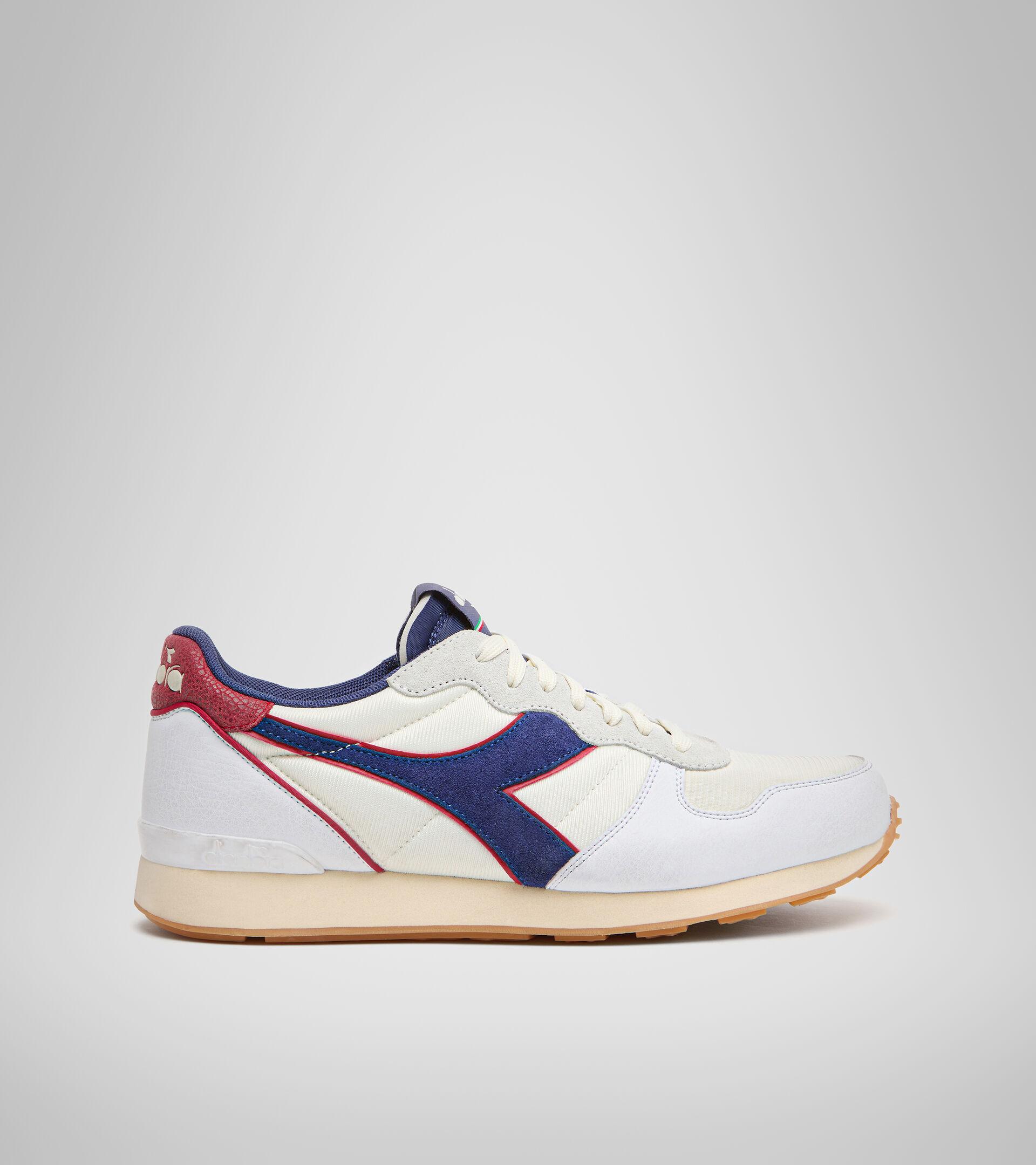 Footwear Sportswear UNISEX CAMARO ICONA WHT/TWILIGHT BL/CHILI PEPPER Diadora