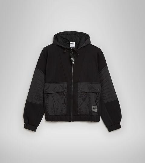 Apparel Sportswear DONNA L. TRACK JACKET URBANITY BLACK Diadora