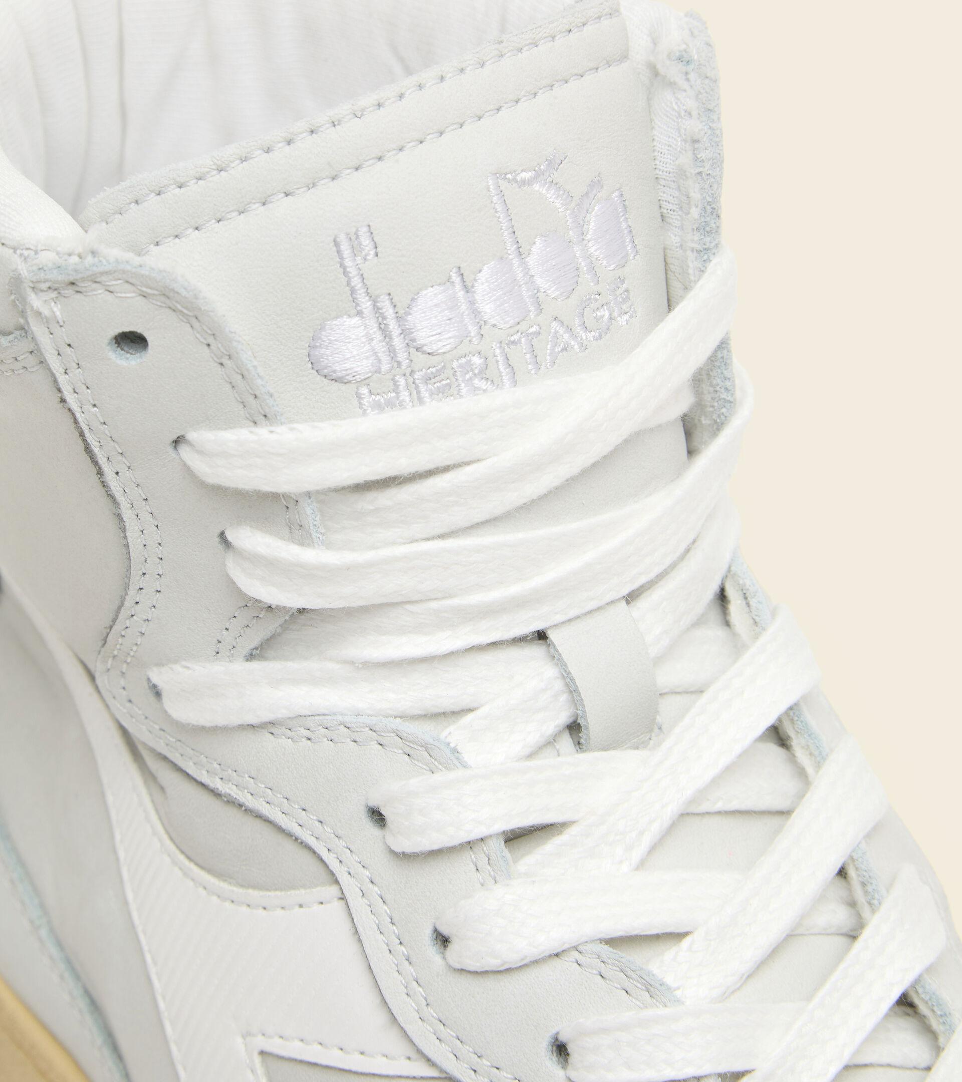 Heritage Trainer - Unisex MI BASKET USED WHITE /WHITE - Diadora
