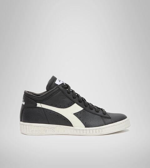 Footwear Sportswear UNISEX GAME L WAXED ROW CUT BLACK/WHITE/BLACK Diadora