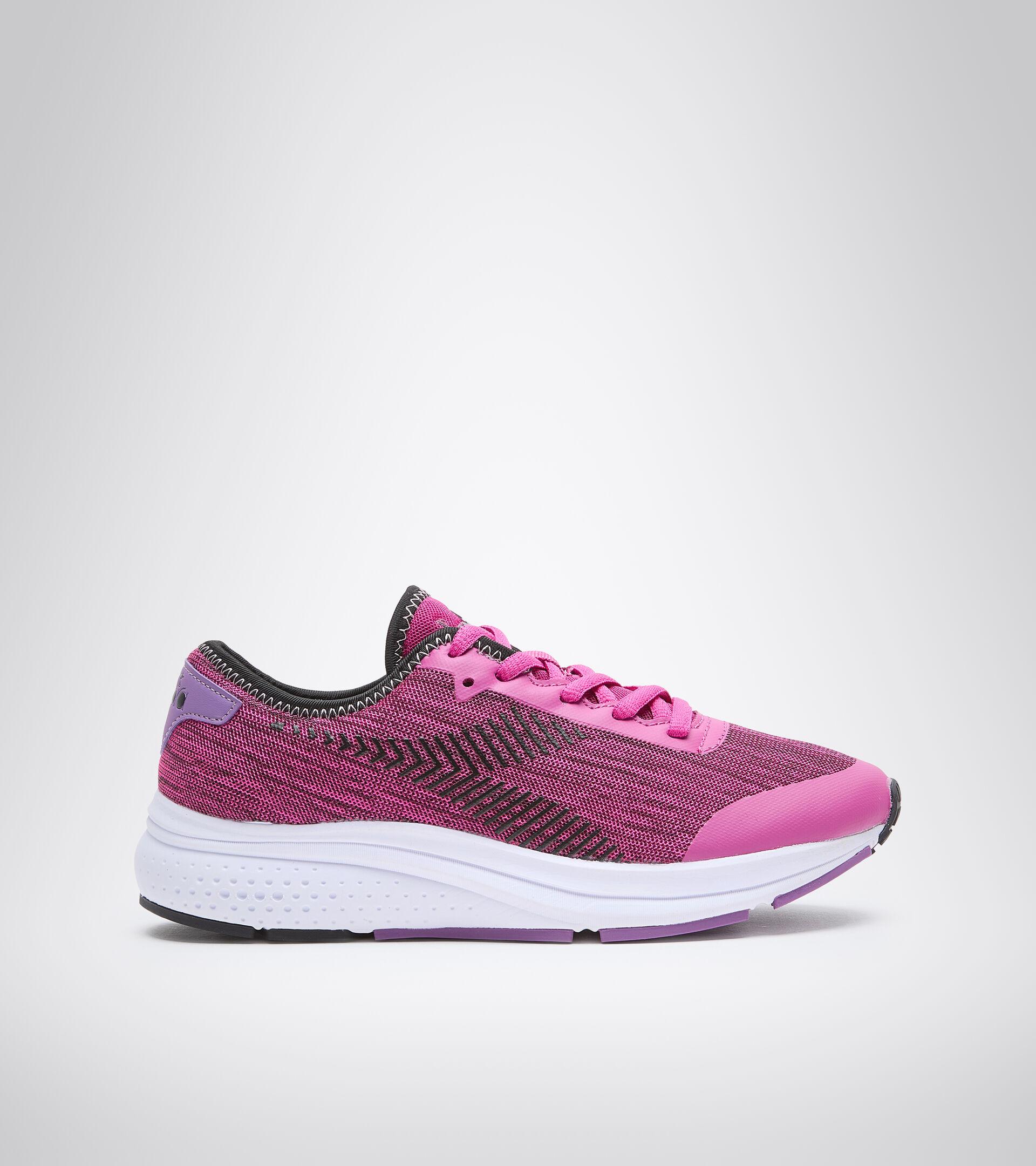 Sports shoe - Women PASSO W JAZZY/BLACK/BELLFLOWER - Diadora