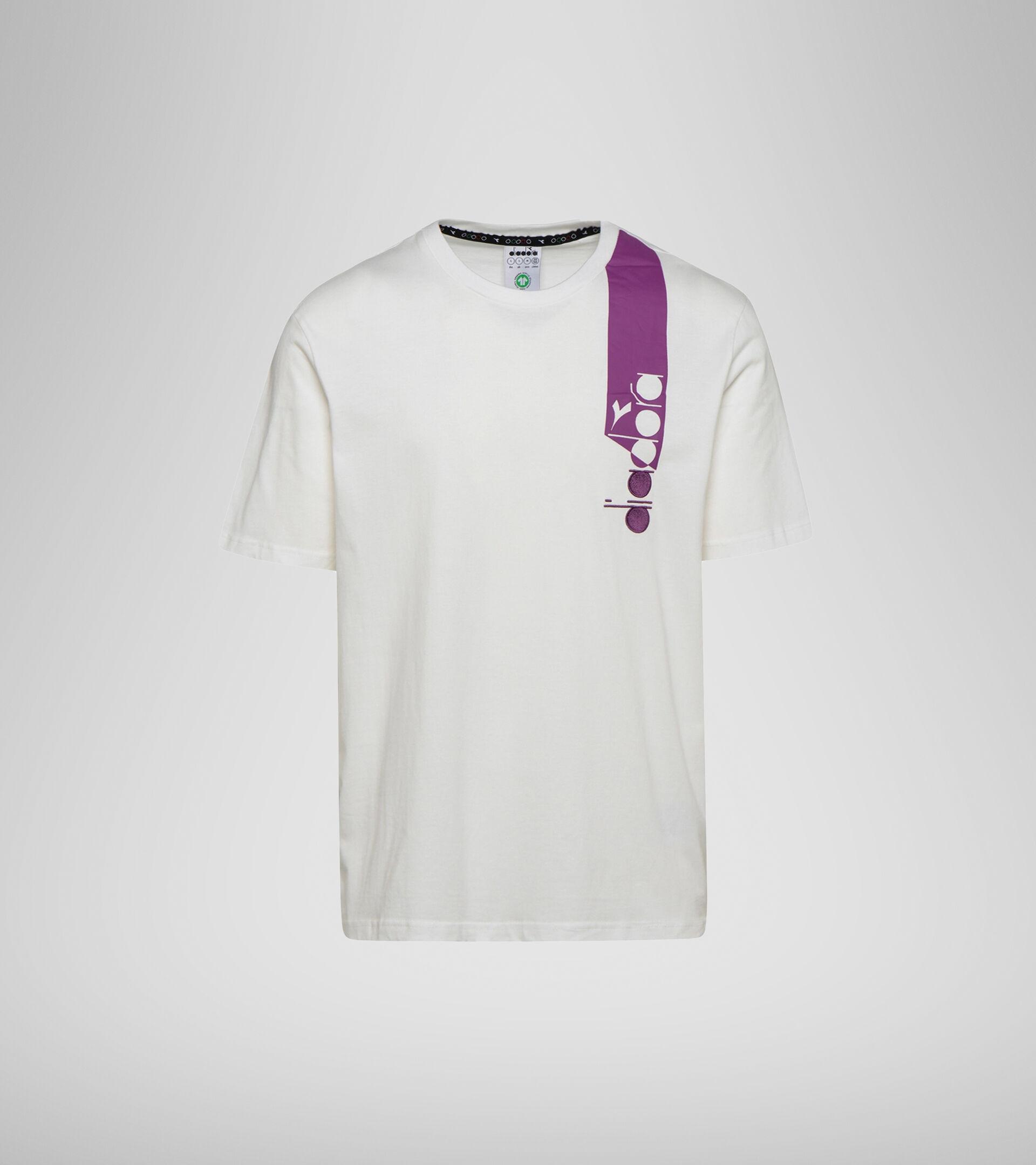T-shirt - Unisex T-SHIRT SS ICON SPARKLING GRAPE/BLC DE BLC/BLK - Diadora