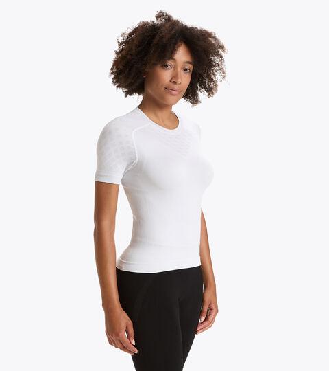 Short-sleeved training t-shirt - Women L. SS T-SHIRT ACT OPTICAL WHITE - Diadora