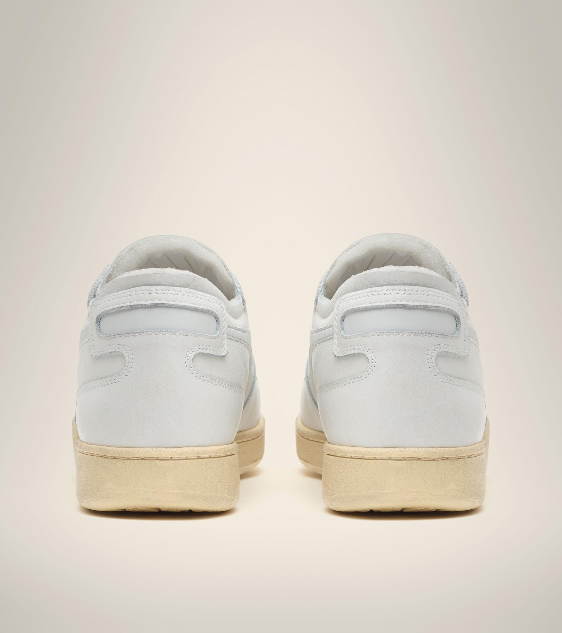 Footwear Heritage UNISEX MI BASKET ROW CUT WHITE/DAWN BLUE Diadora