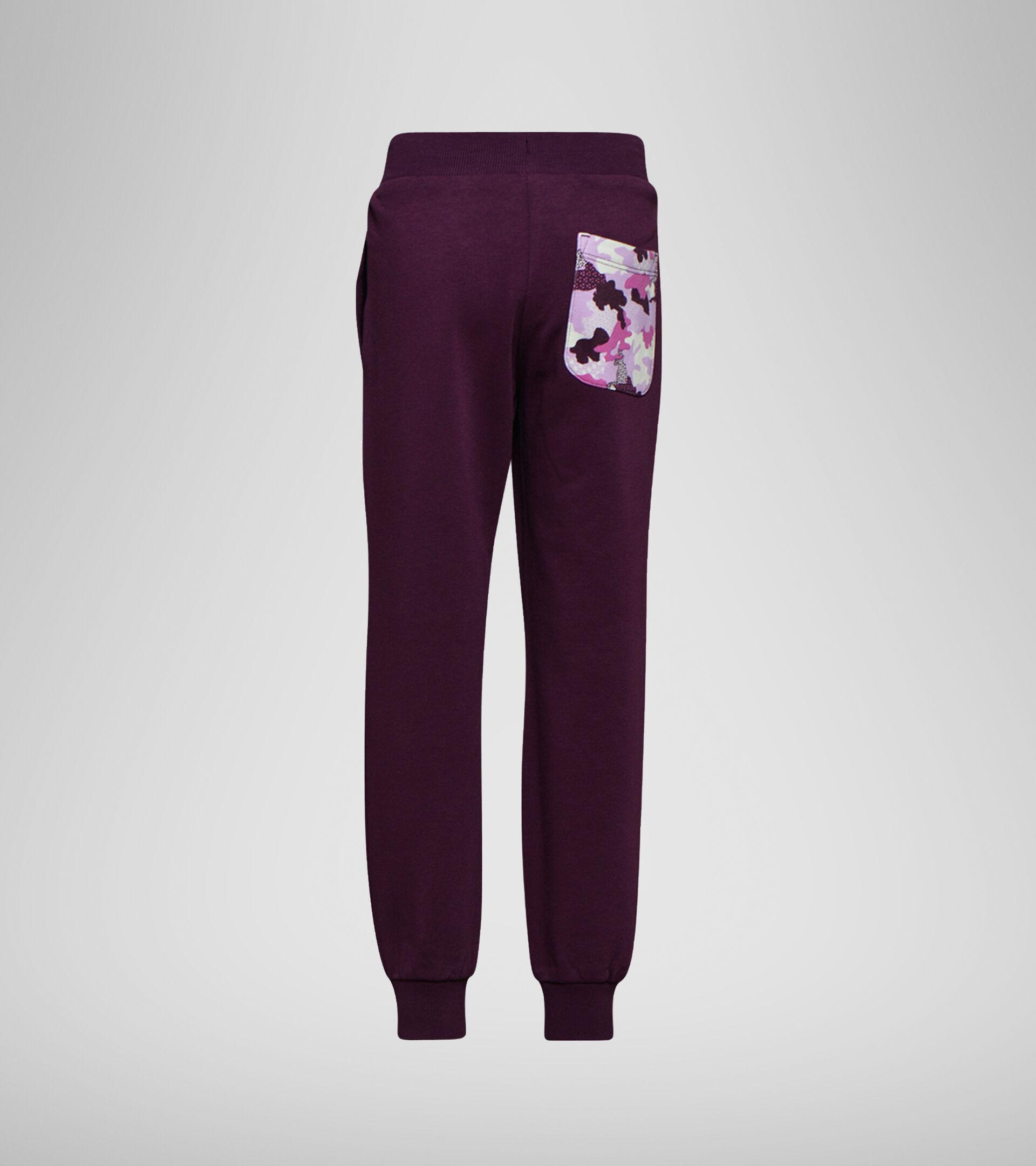 Sports trousers - Boys and girls JU.CUFF PANTS CHROMIA VIOLET GRAPE - Diadora
