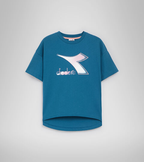 T-Shirt - Damen L.T-SHIRT SS LUSH MAROKKANER BLAU - Diadora