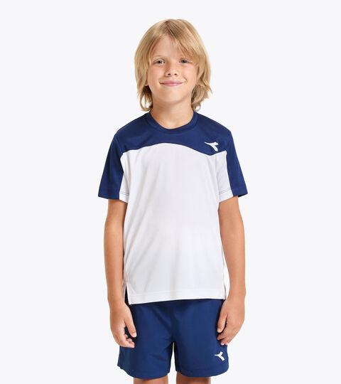 T-shirt de tennis - Junior J. T-SHIRT TEAM BLEU DOMAINE - Diadora