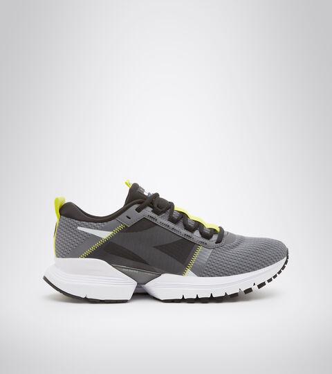 Running shoe - Men's MYTHOS BLUSHIELD ELITE TRX 2 STEEL GRAY/BLACK - Diadora
