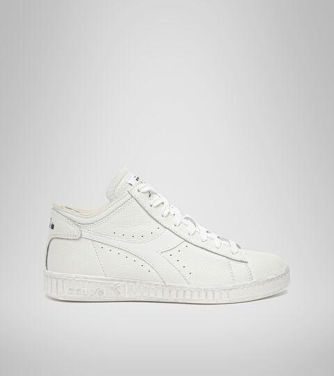 Footwear Sportswear UNISEX GAME L WAXED ROW CUT WHITE/WHITE/WHITE Diadora