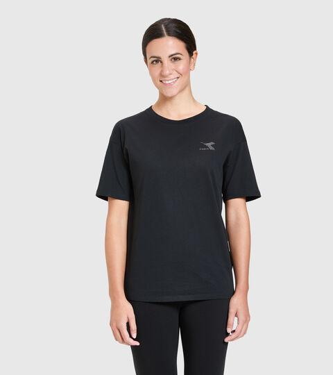 T-Shirt - Damen L.T-SHIRT SS BLINK SCHWARZ - Diadora