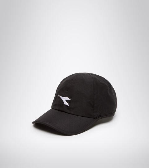 Tenniskappe - Unisex ADJUSTABLE CAP BLACK/OPTICAL WHITE - Diadora