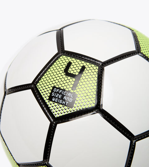 Fußball BOMBER 4 BIANCO/GIALLO FLUO DIADORA /NE - Diadora