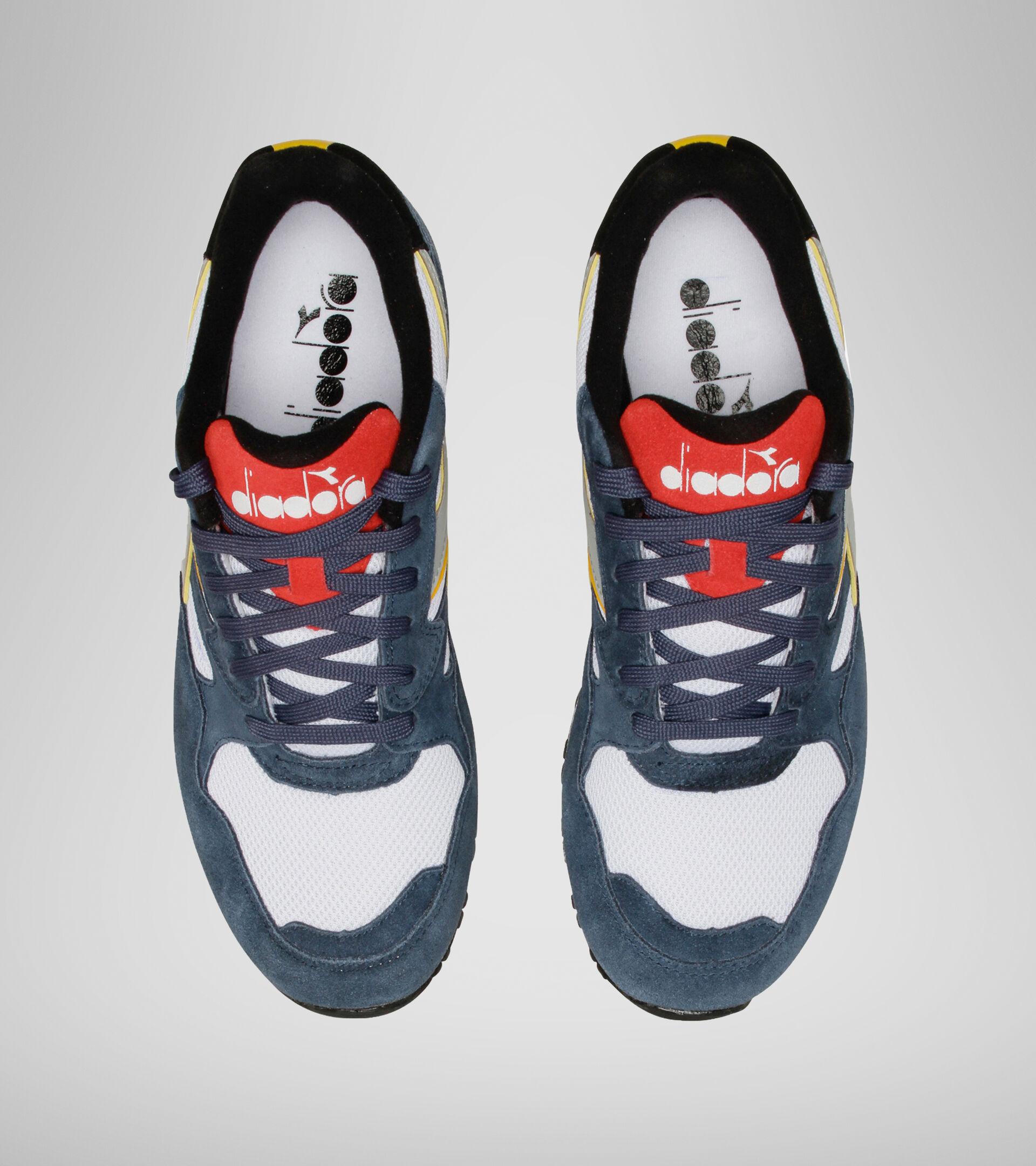 Sneaker - Unisex N902 S DNKL JEANSTOFF BL/WSS/FEUERROT - Diadora