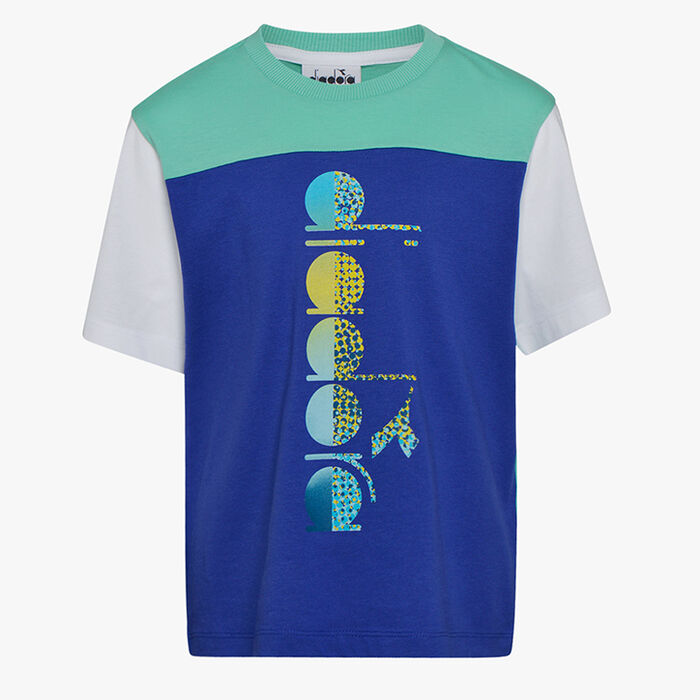 JB. T-SHIRT SS DIADORA CLUB, BLUE CLEMATIS, large