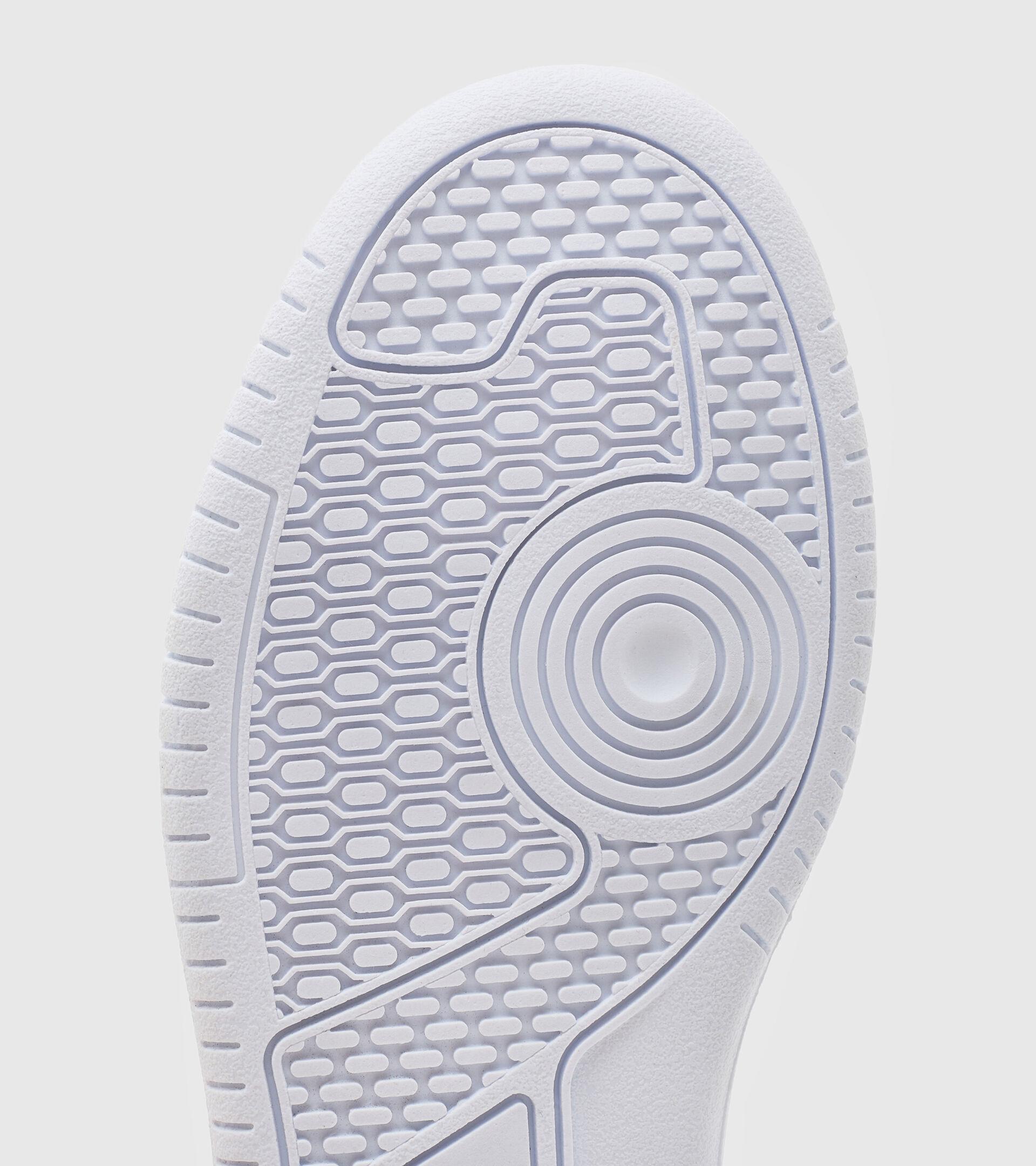 Footwear Sport BAMBINO RAPTOR MID PS WHITE/SILVER Diadora