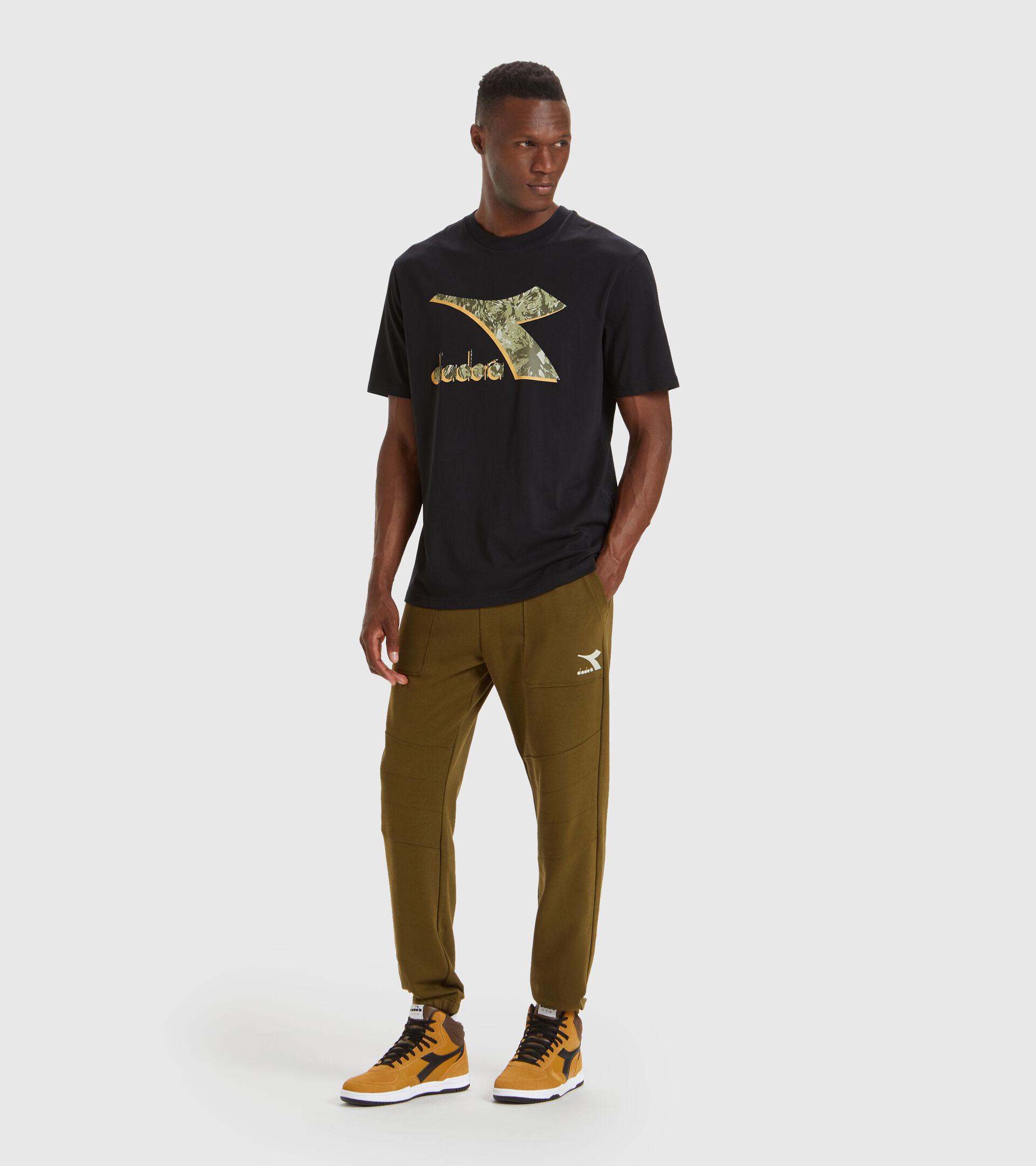 T-Shirt - Herren T-SHIRT SS SHIELD SCHWARZ - Diadora