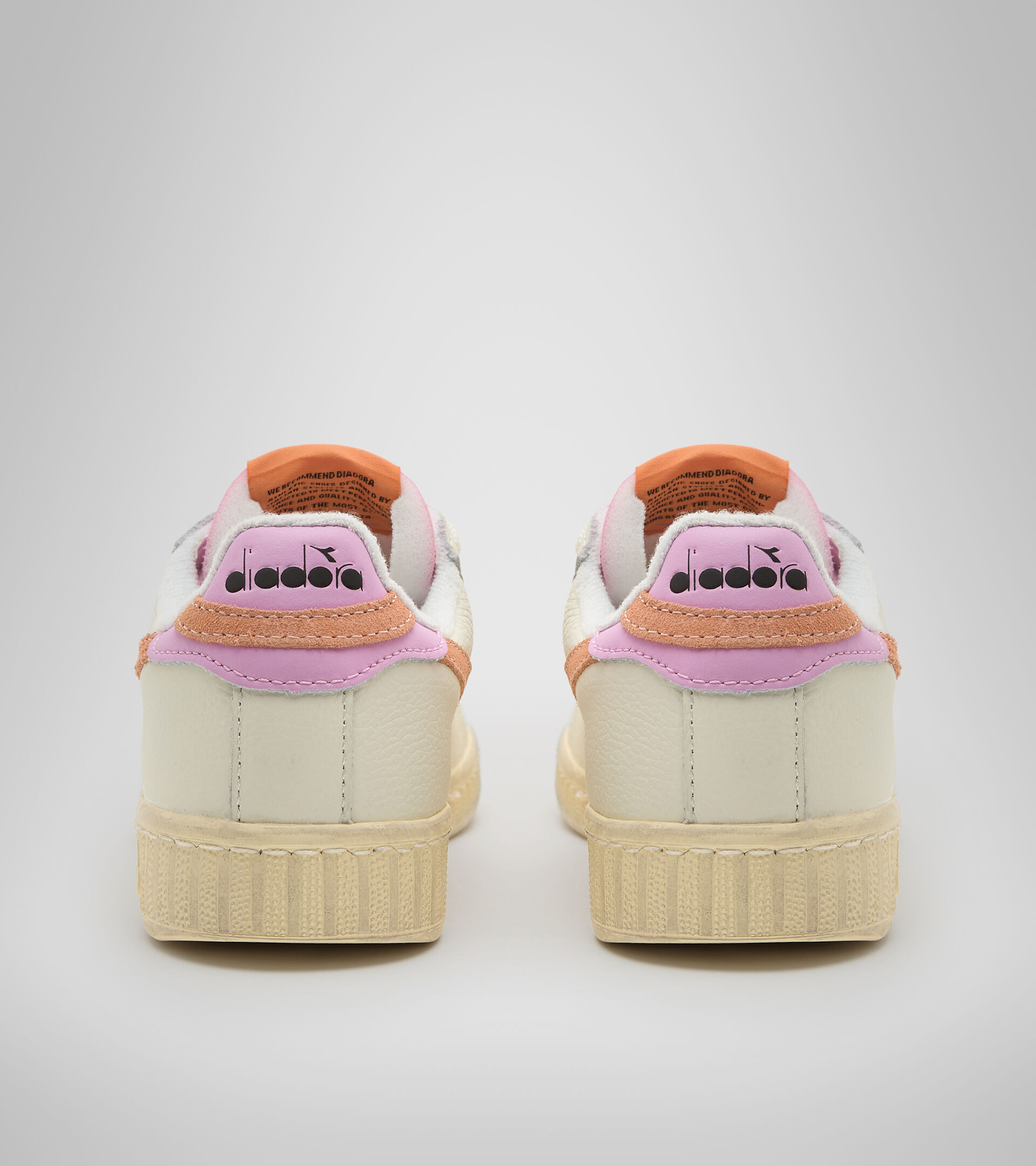 Sportswear shoes - Women GAME L LOW ICONA WN CANTALOUPE/PASTEL LAVANDER - Diadora
