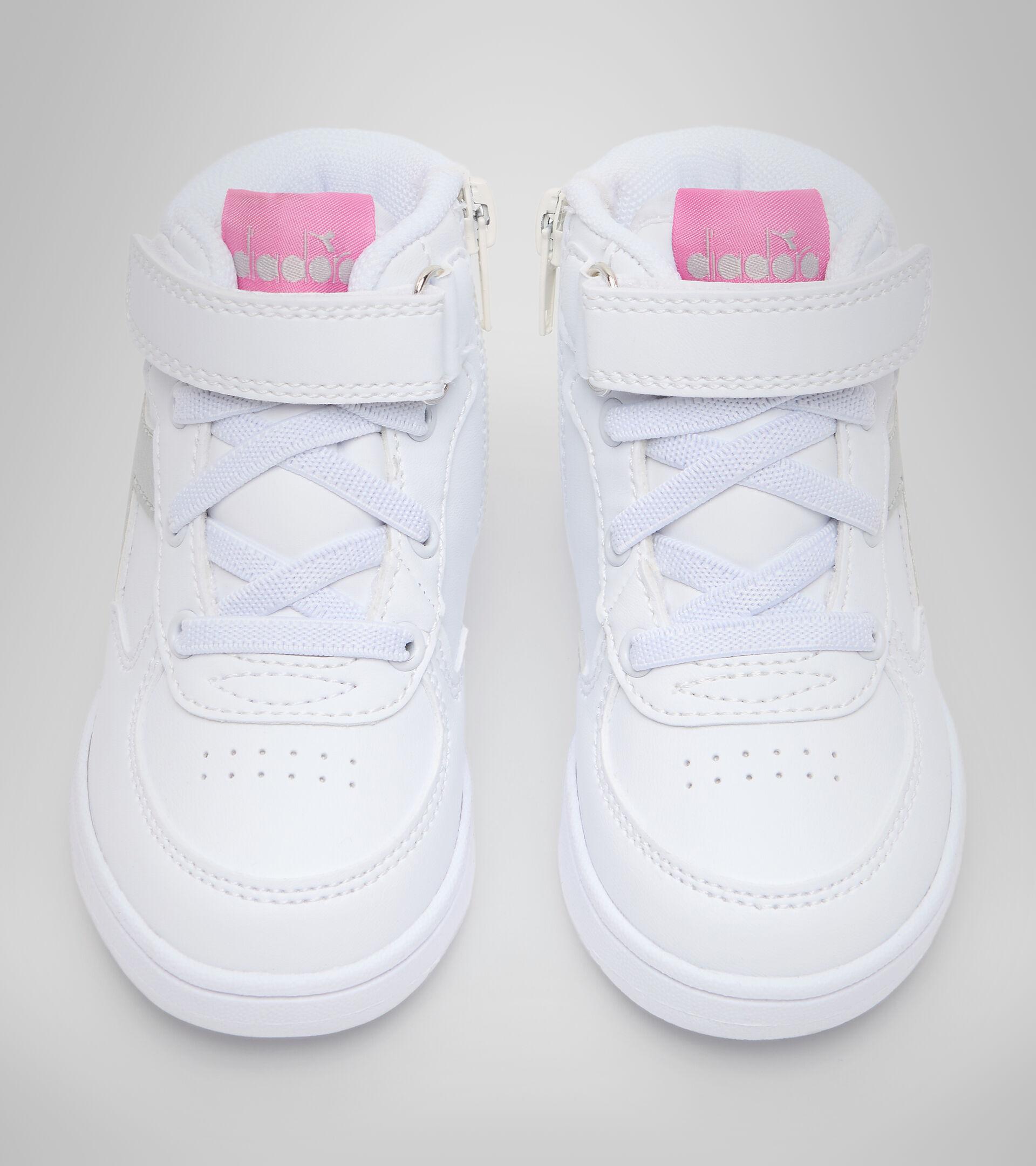 Footwear Sport BAMBINO RAPTOR MID TD WHITE/SILVER Diadora