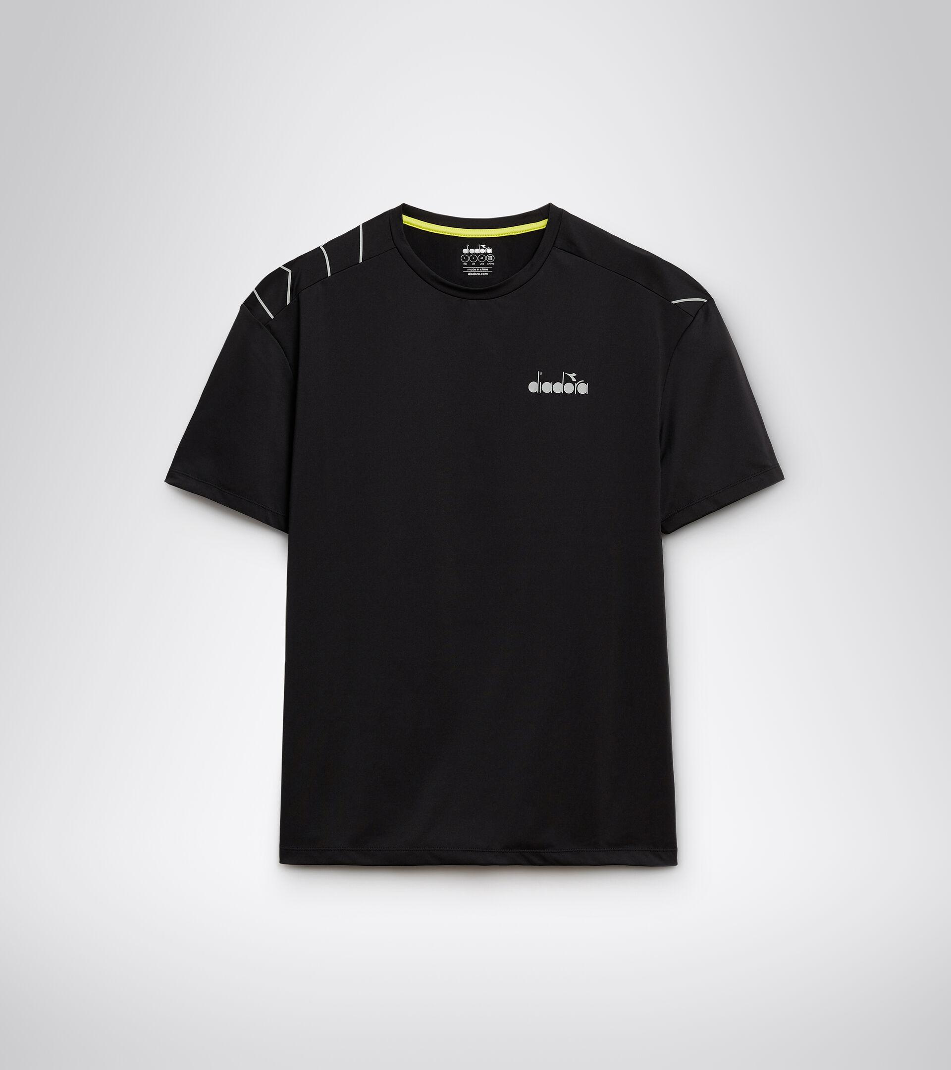 Apparel Sport UOMO SS T-SHIRT BE ONE TECH BLACK Diadora