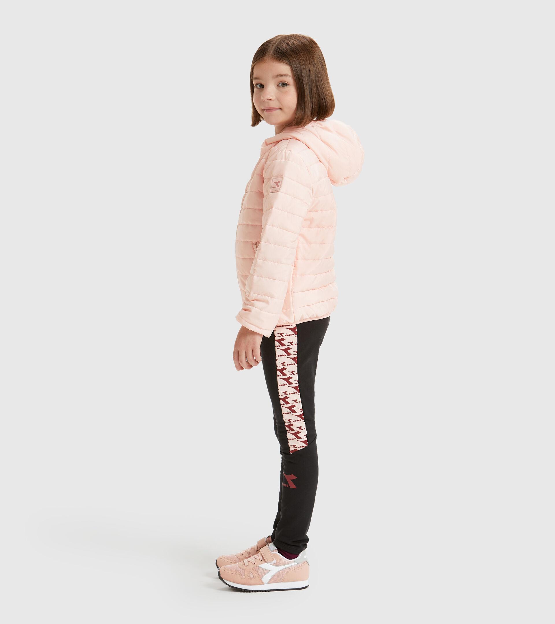 Pantalones deportivos - Niños JU.HOODIE LIGHT JACKET ROSA VELADO - Diadora