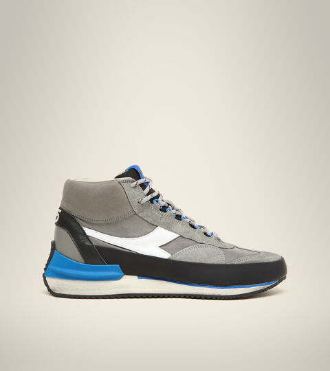 Chaussures Heritage Made in Italy - Homme EQUIPE MID MAD ITALIA NUBUCK SW NEUTRE GRIS - Diadora