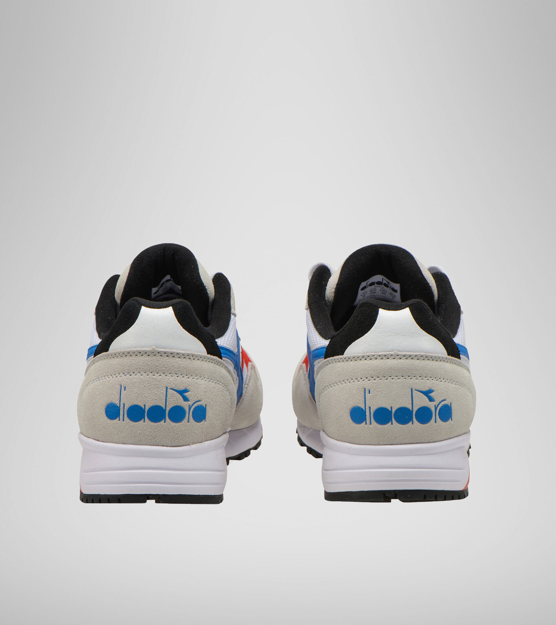 Sneaker - Unisex N902 S WSS/LEUCHTEND BLAU/FEUERROT - Diadora