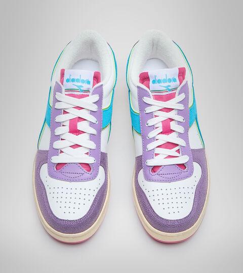 Zapatillas deportivas - Mujer MAGIC BASKET LOW ICONA WN ENGLISH LAVENDER/WHITE - Diadora