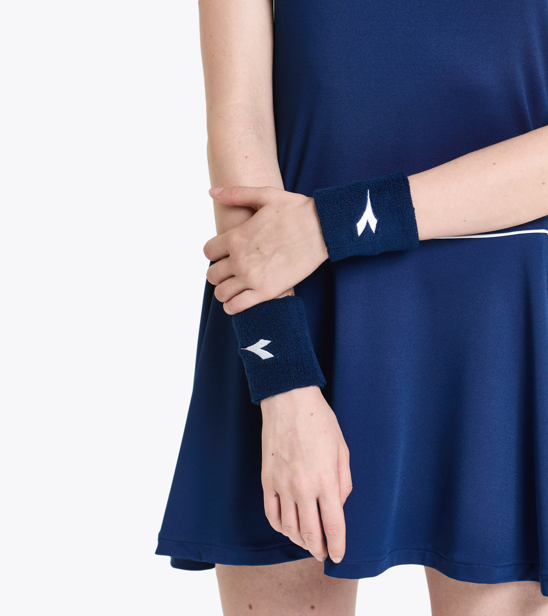 Wristband WRISTS BAND COURT SALTIRE NAVY - Diadora