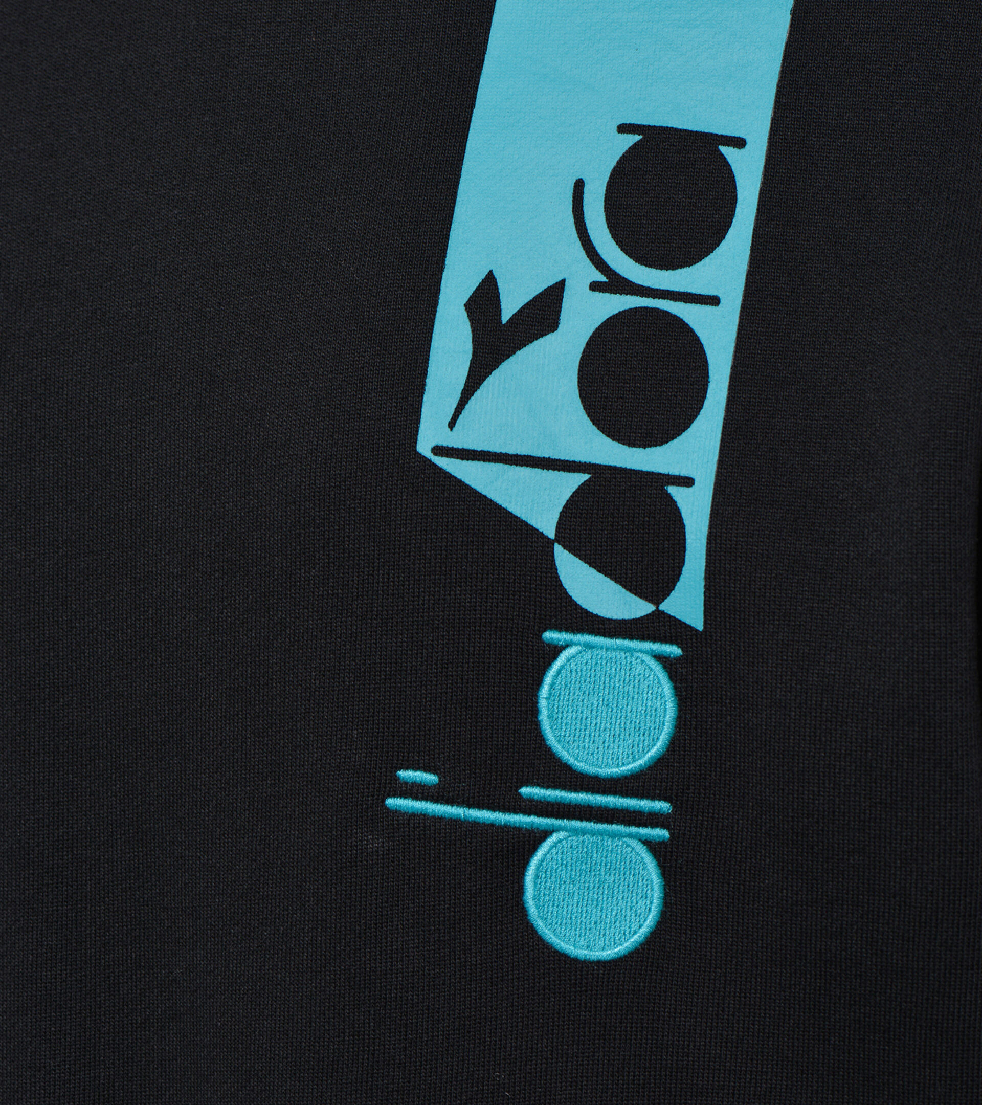 Apparel Sportswear UOMO HOODIE ICON NEGRO Diadora