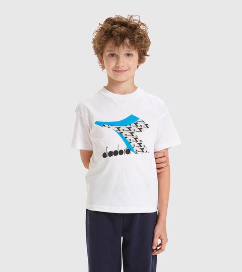 T-shirt - Kids JU.SS T-SHIRT  CUBIC OPTICAL WHITE - Diadora