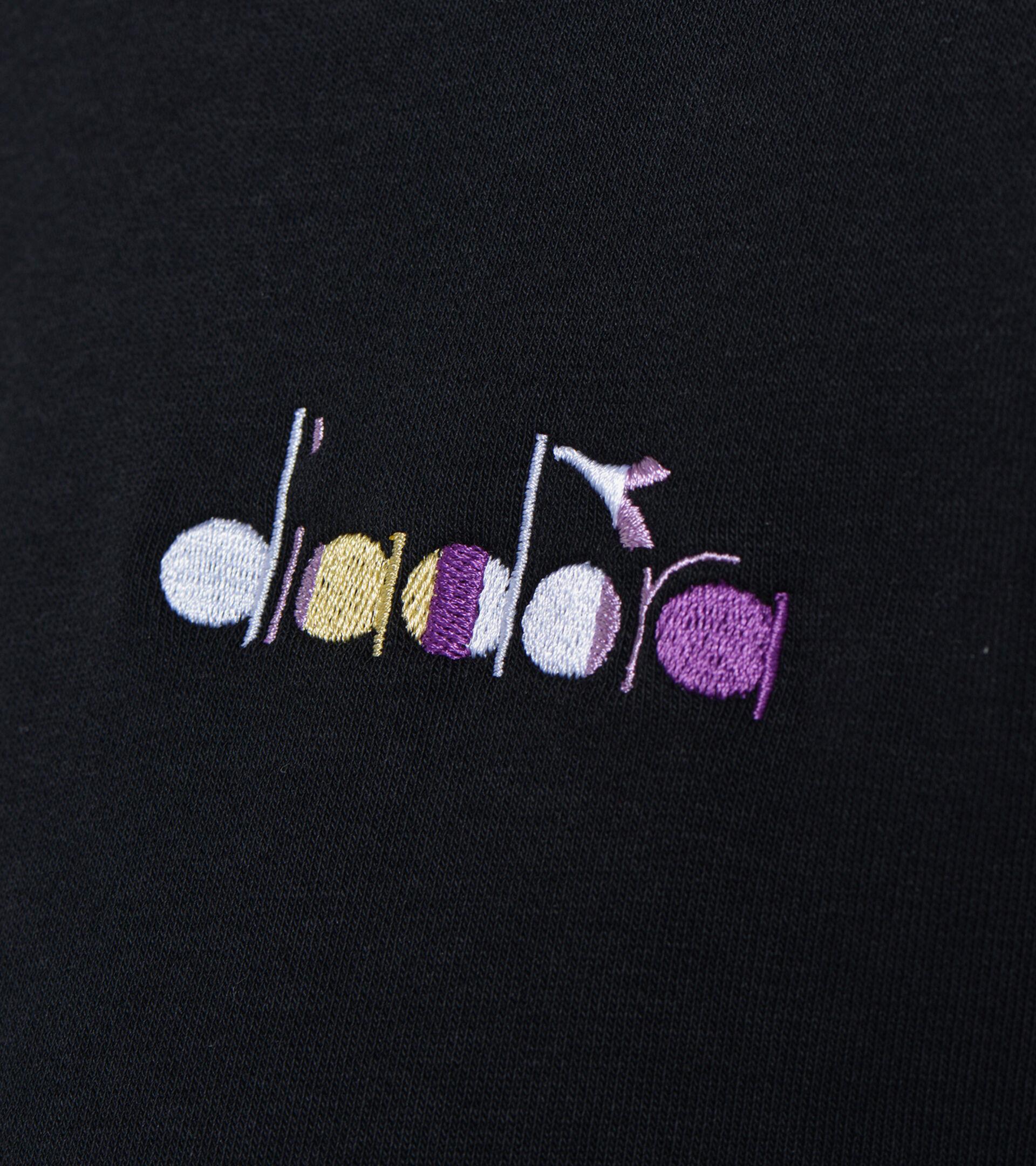 Sweater mit Rundhalsausschnitt - Damen L.SWEATSHIRT CREW SPOTLIGHT SCHWARZ - Diadora