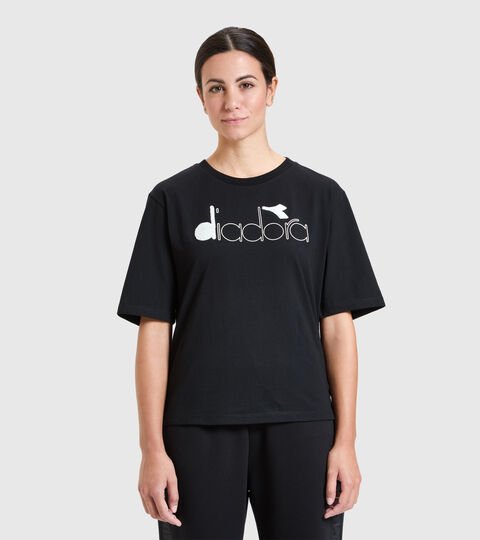 T-shirt - Femme L. T-SHIRT SS URBANITY NOIR - Diadora